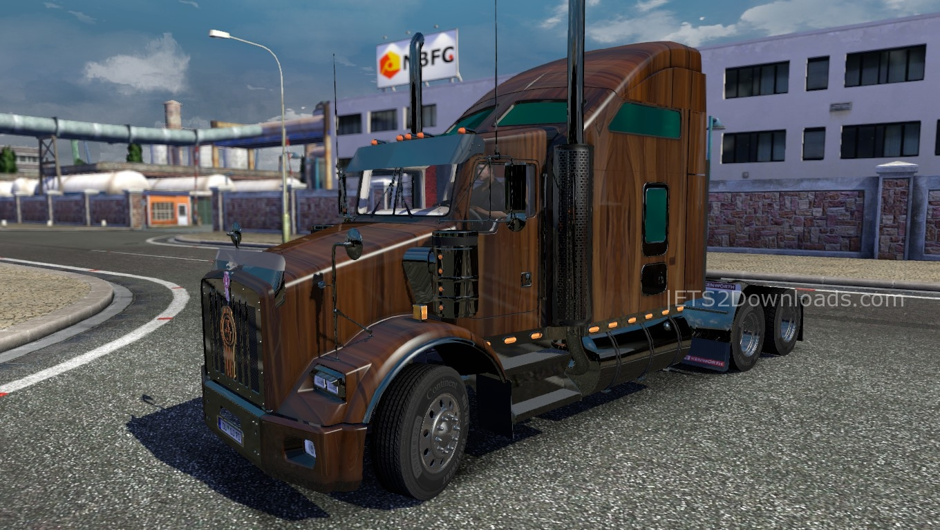 wood-skin-for-kenworth-t800