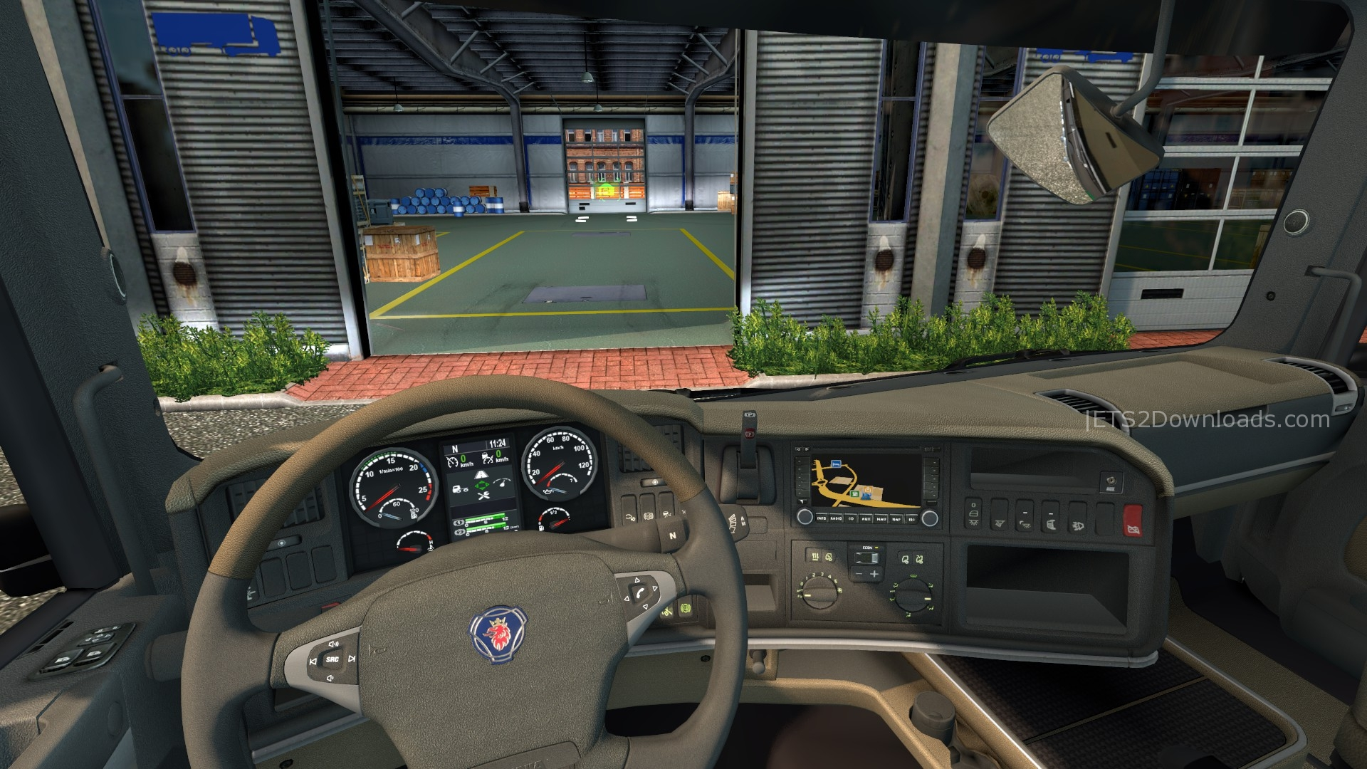 original dashboard for scania euro truck simulator 2 mods. Black Bedroom Furniture Sets. Home Design Ideas