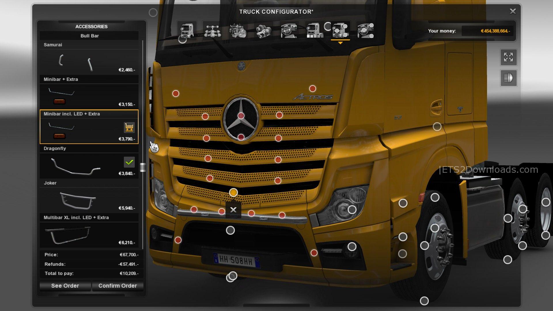 Kelsa Lightbox for Mercedes-Benz - ETS2 Mods