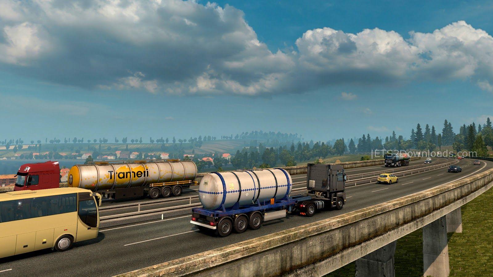 Download Euro Truck Simulator 2 v1.19 ~ Euro Truck ...
