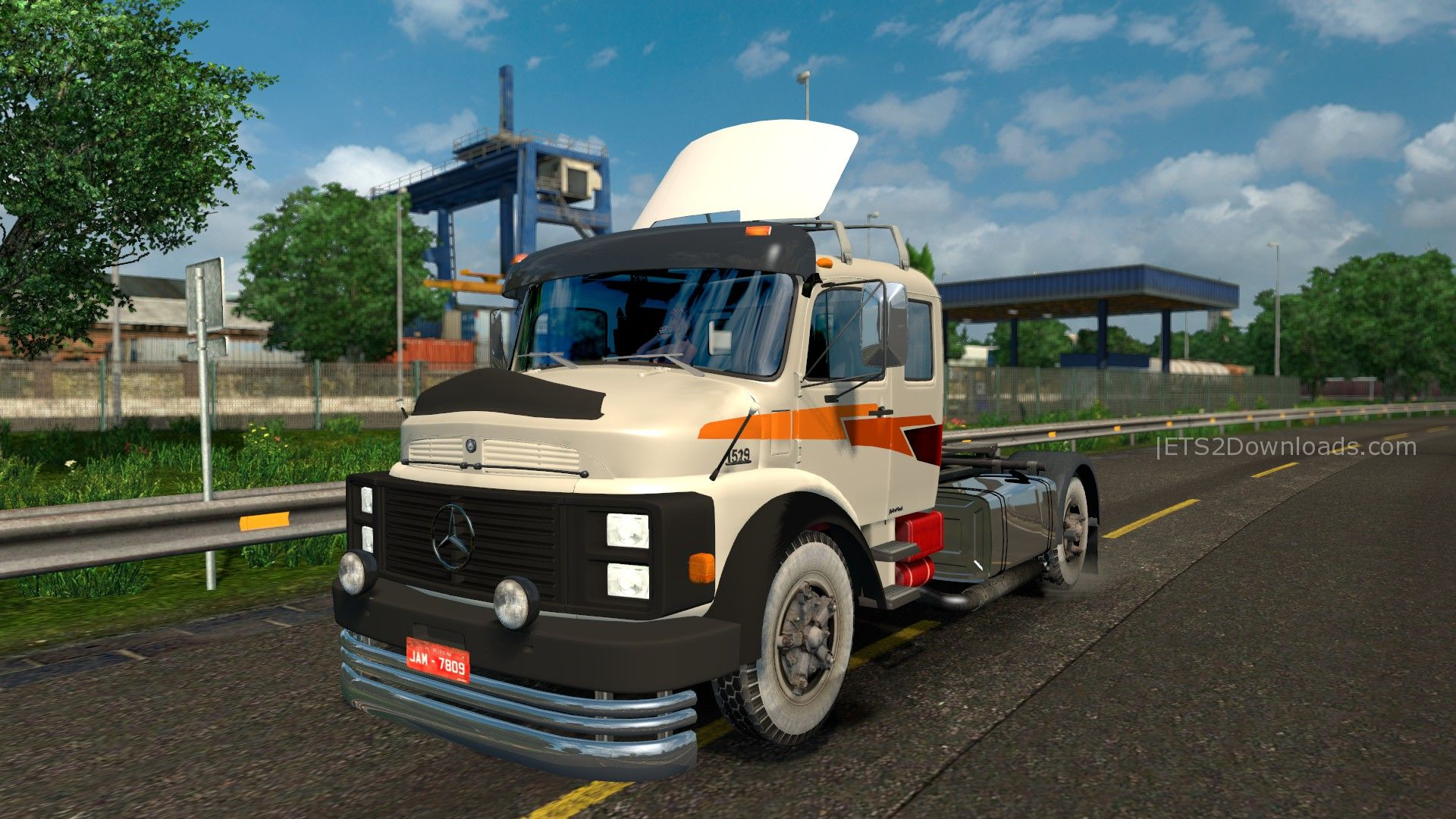 Mercedes benz 1519 1525 v1 1 ets 2 mods ets2downloads for Mercedes benz truck parts