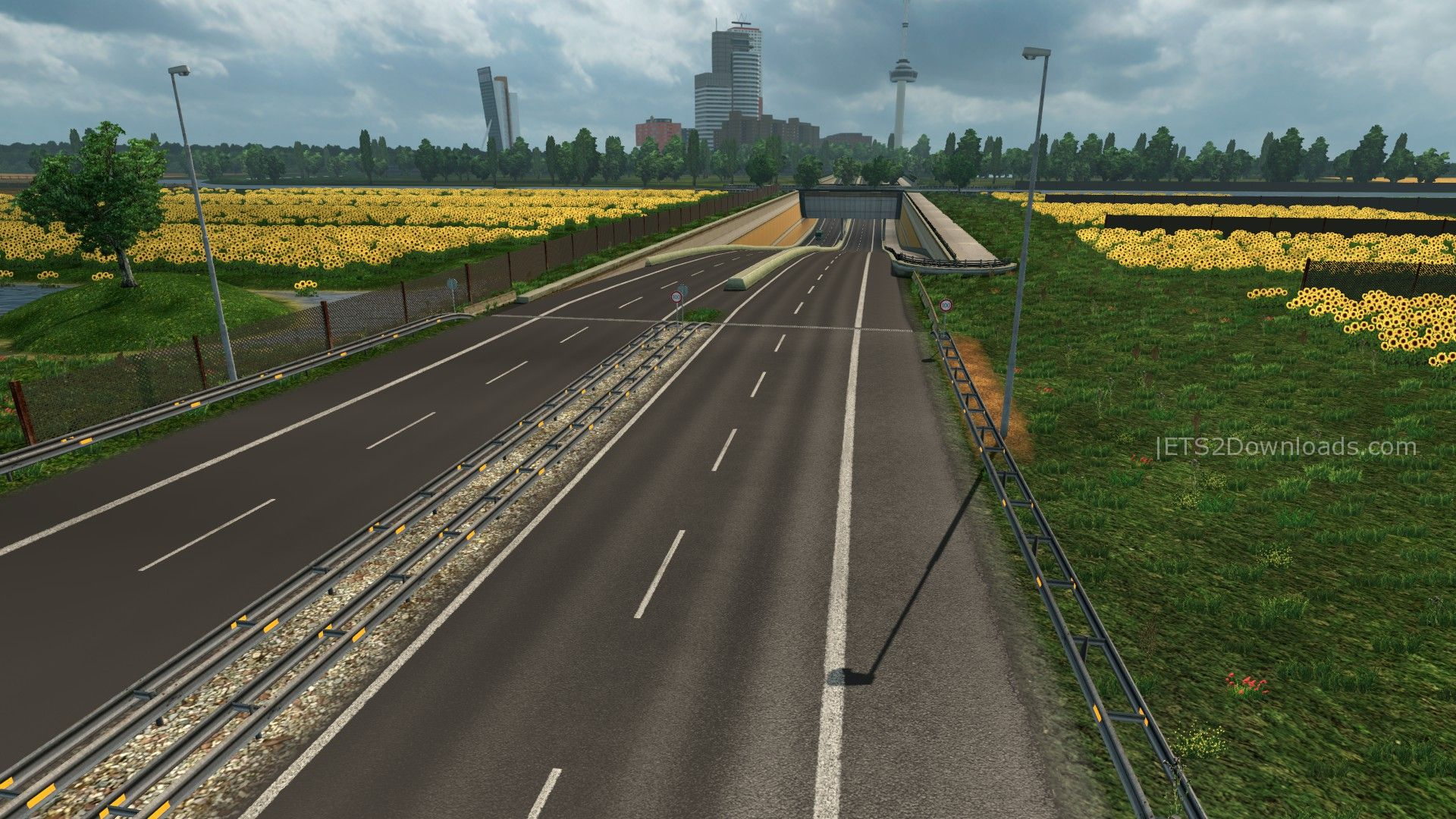 New Road Texture v1.5 - ETS 2 Mods | ETS2Downloads