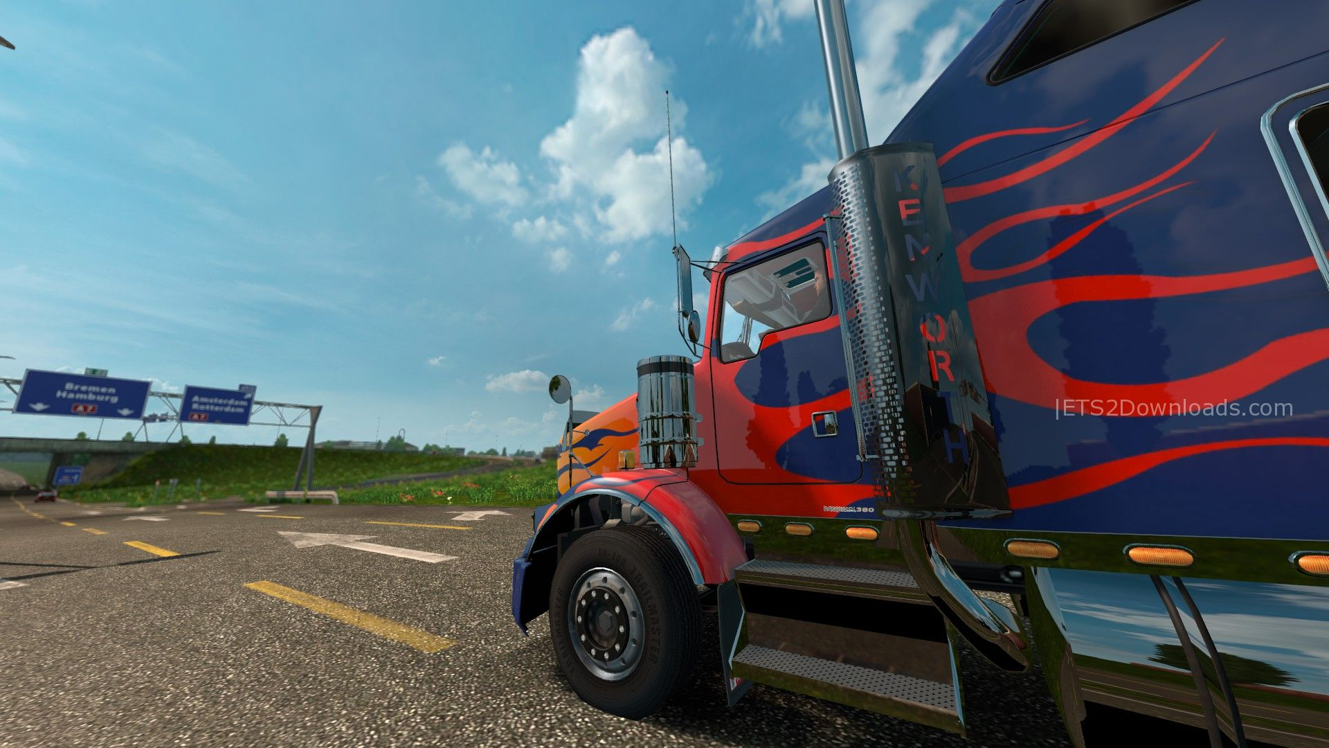 optimus-prime-skin-for-kenworth-t800-2