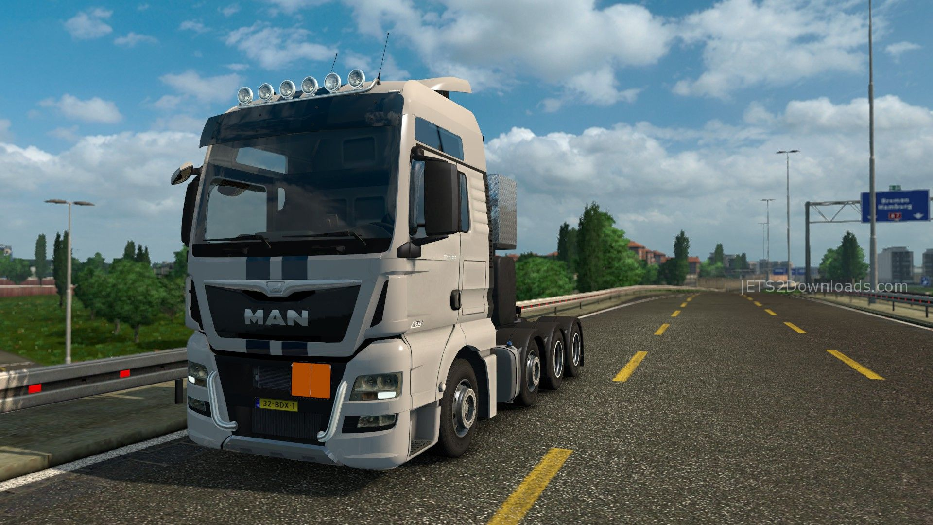 man tgx euro 6 v1 8 euro truck simulator 2 spot. Black Bedroom Furniture Sets. Home Design Ideas