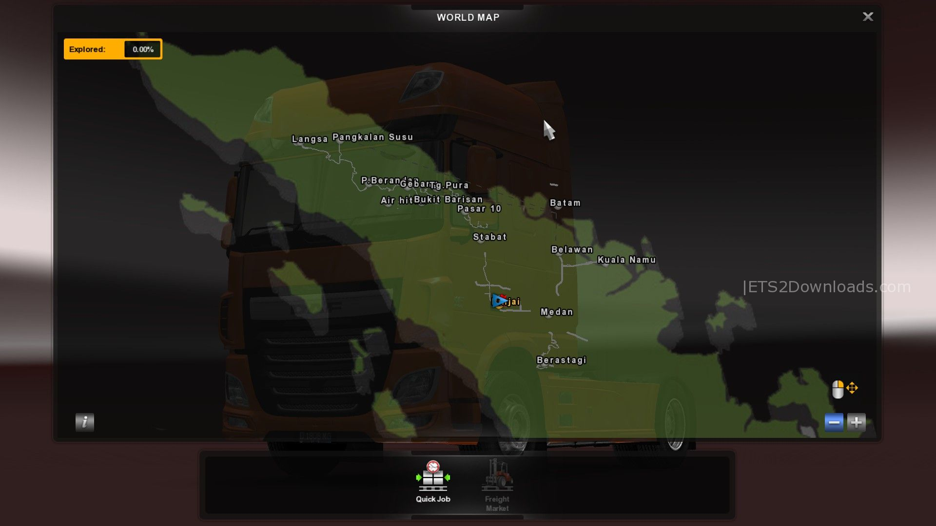Picture of: Sumatra Map 13 Ets2 Mods