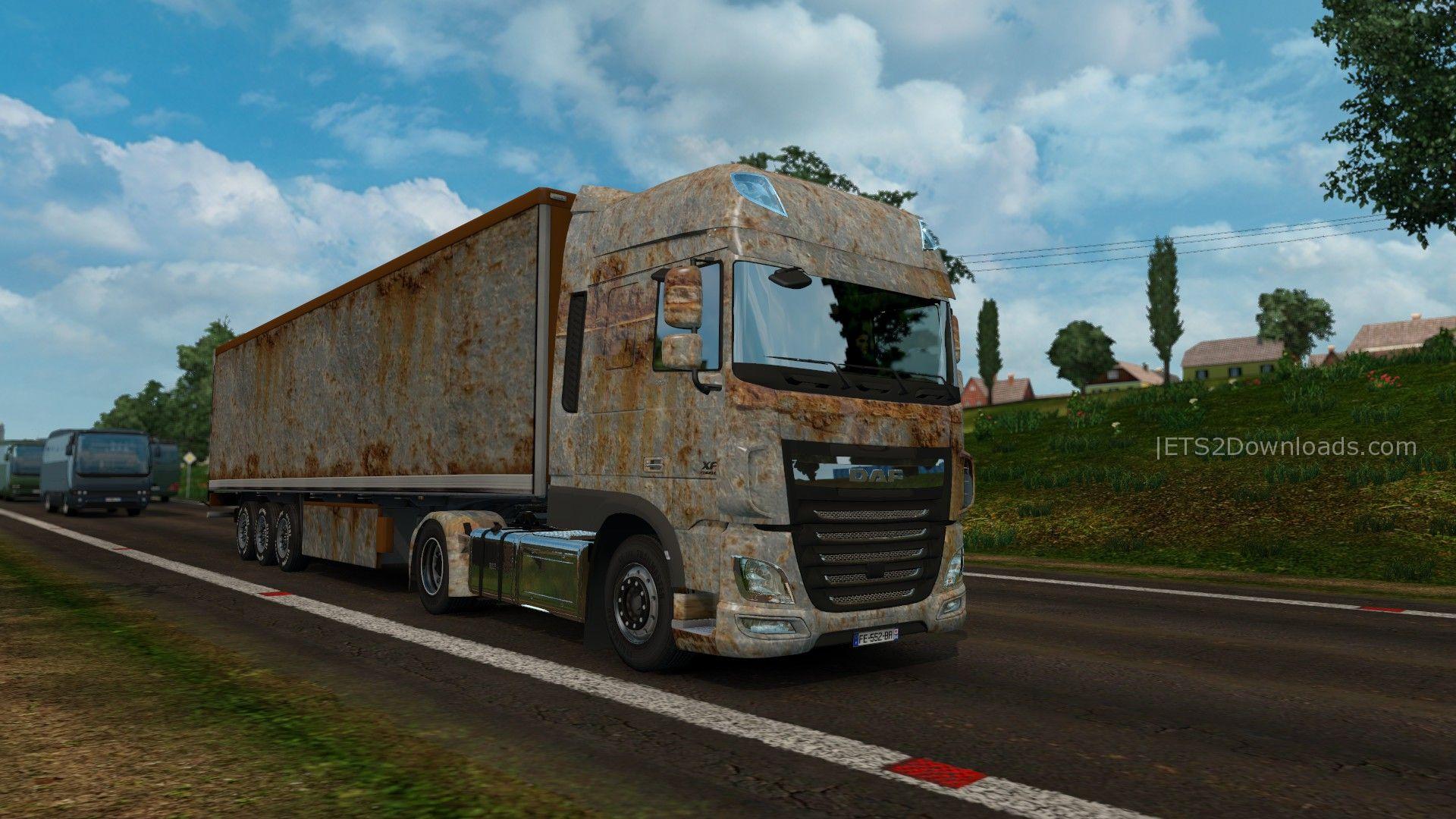 rust-skin-pack-for-daf-xf-euro-6