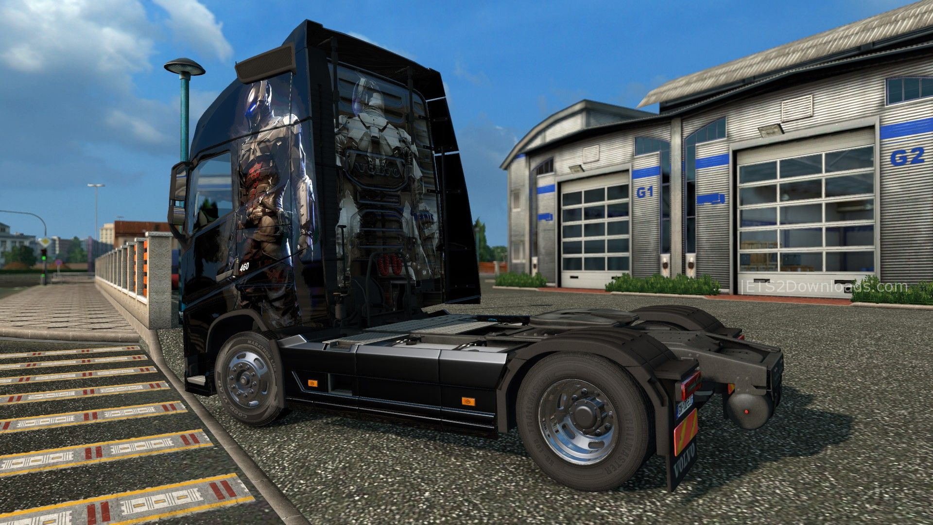 arkam-knight-skin-for-volvo-fh-2