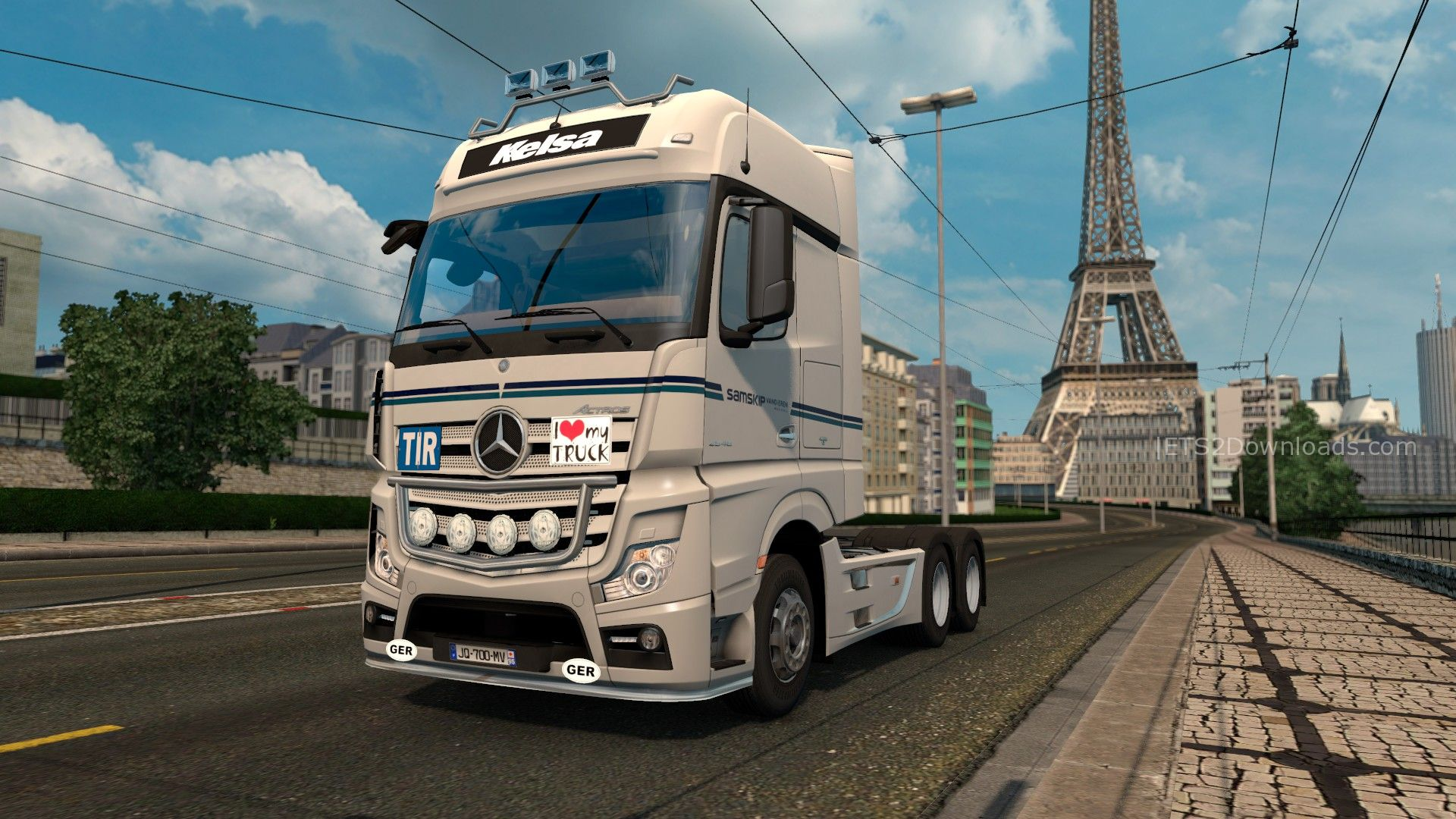 mercedes benz actros mp4 by taina95 euro truck simulator 2 mods. Black Bedroom Furniture Sets. Home Design Ideas