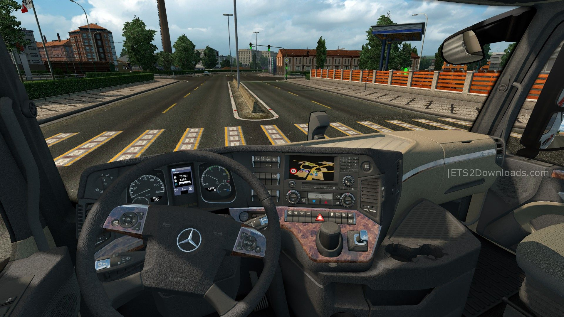 realistic-mercedes-benz-new-actros-interior