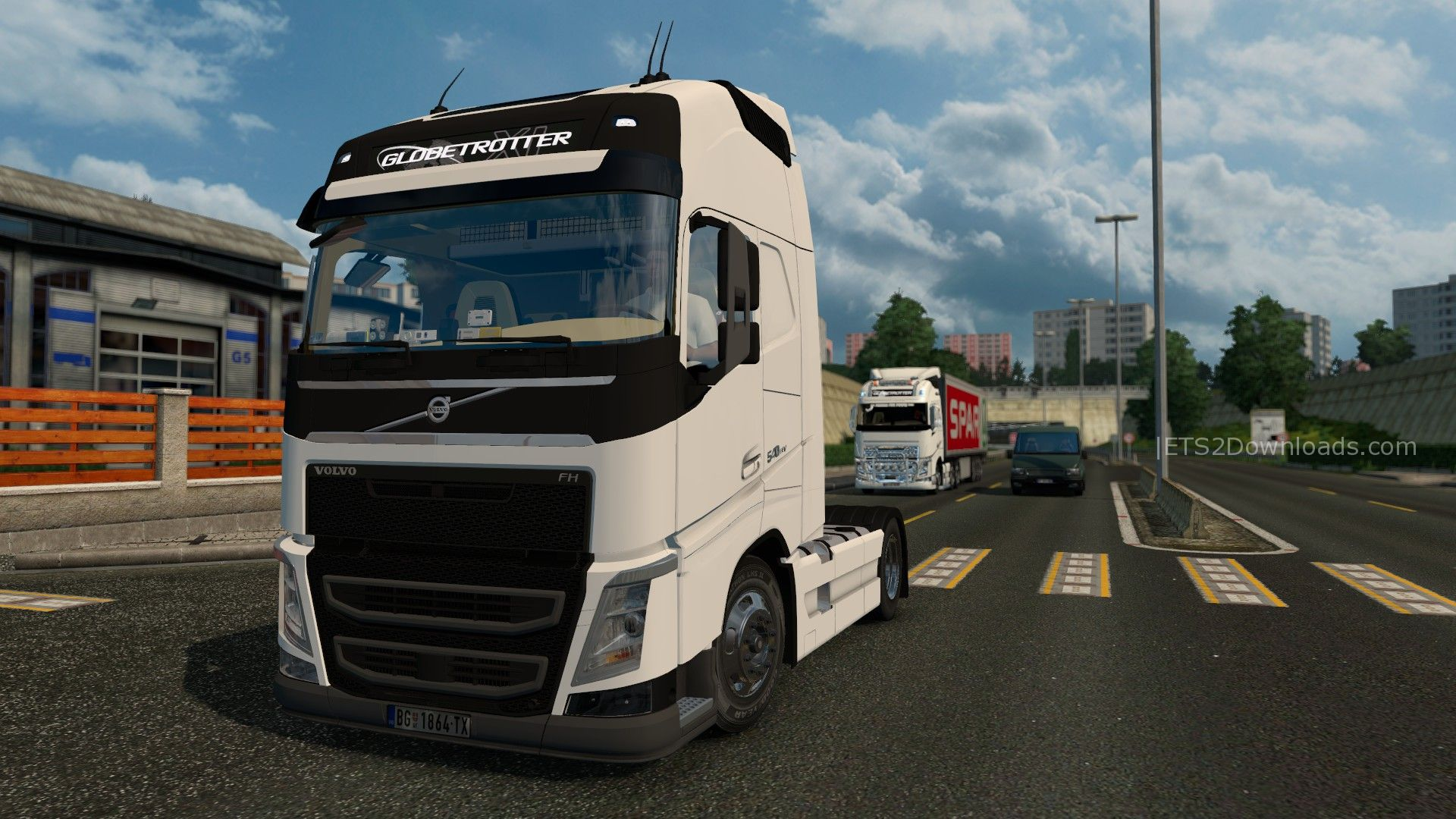 volvo fh4 540eev v2 0 ets 2 mods ets2downloads. Black Bedroom Furniture Sets. Home Design Ideas