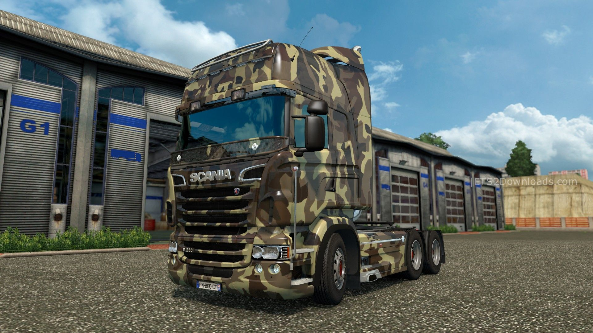 army-skin-for-scania-rjl