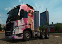 christmas-girl-skin-for-volvo-fh-2013