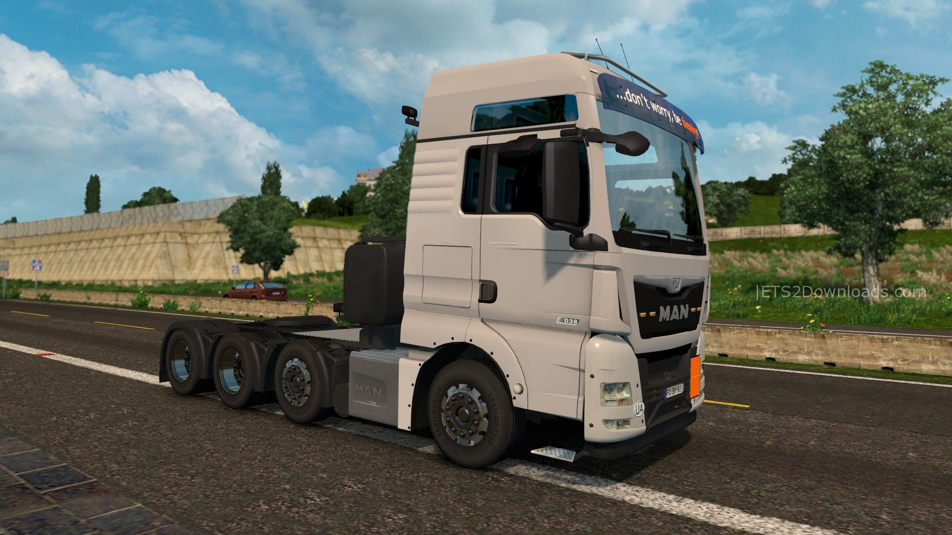 man tgx euro 6 by madster v1 5 euro truck simulator 2 spot. Black Bedroom Furniture Sets. Home Design Ideas
