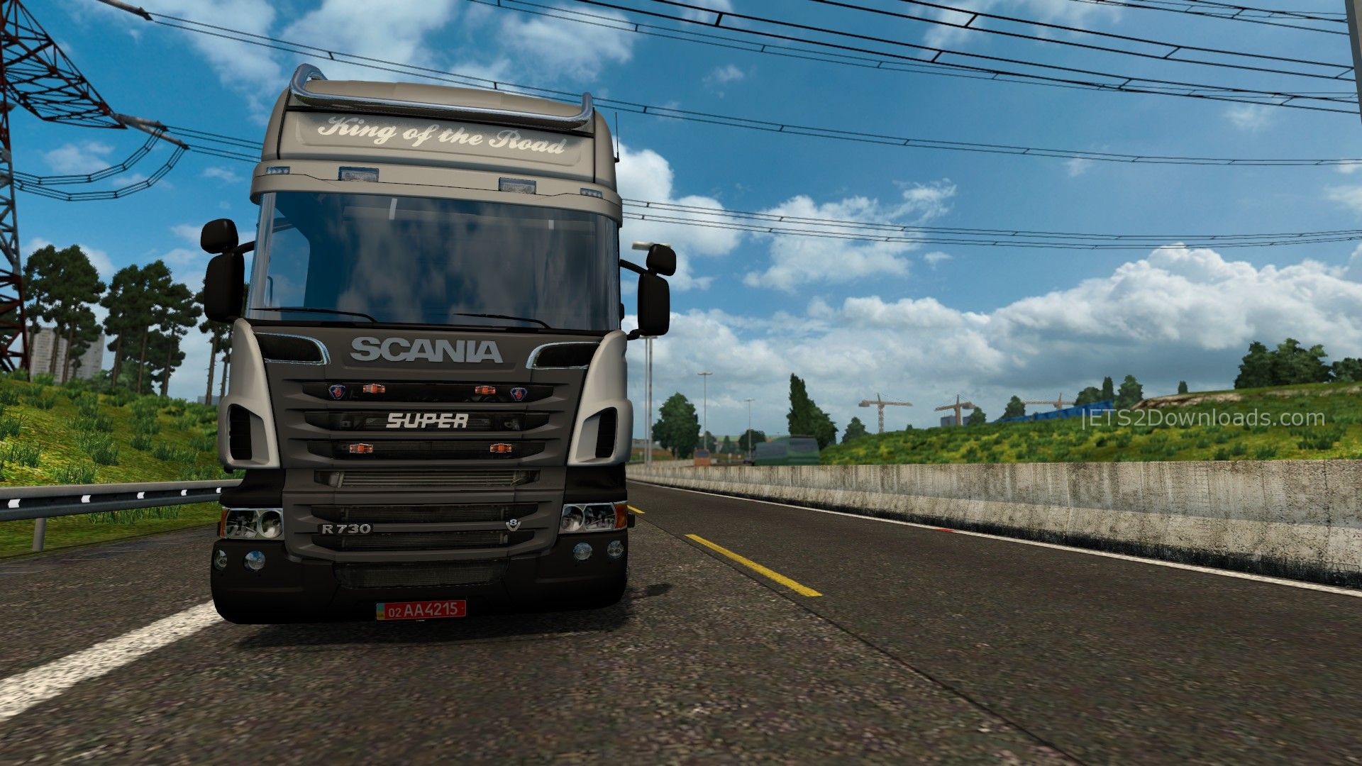 scania r s series v5 0 ets 2 mods ets2downloads. Black Bedroom Furniture Sets. Home Design Ideas