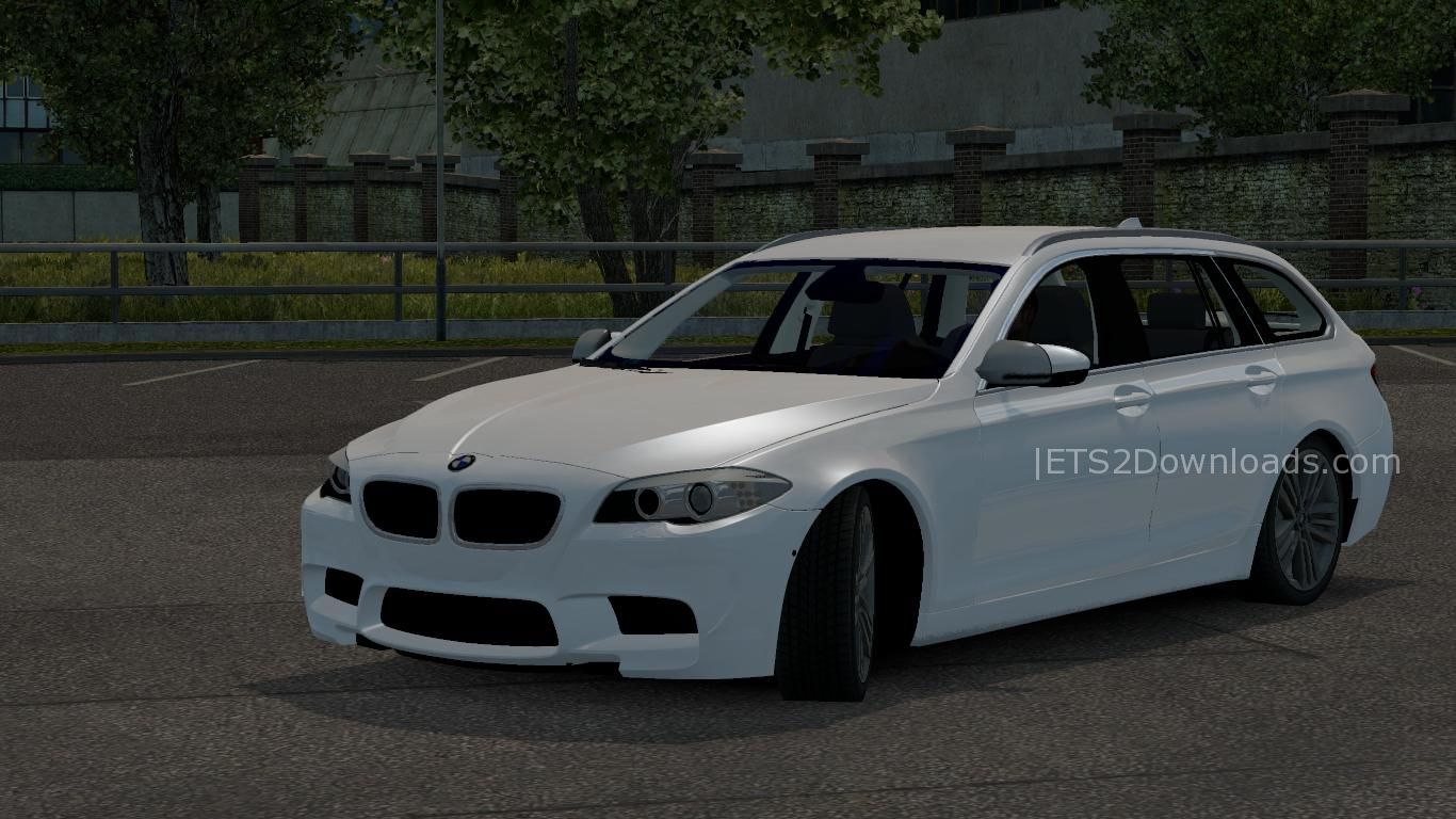 bmw m5 touring by buraktuna24 euro truck simulator 2 spot. Black Bedroom Furniture Sets. Home Design Ideas