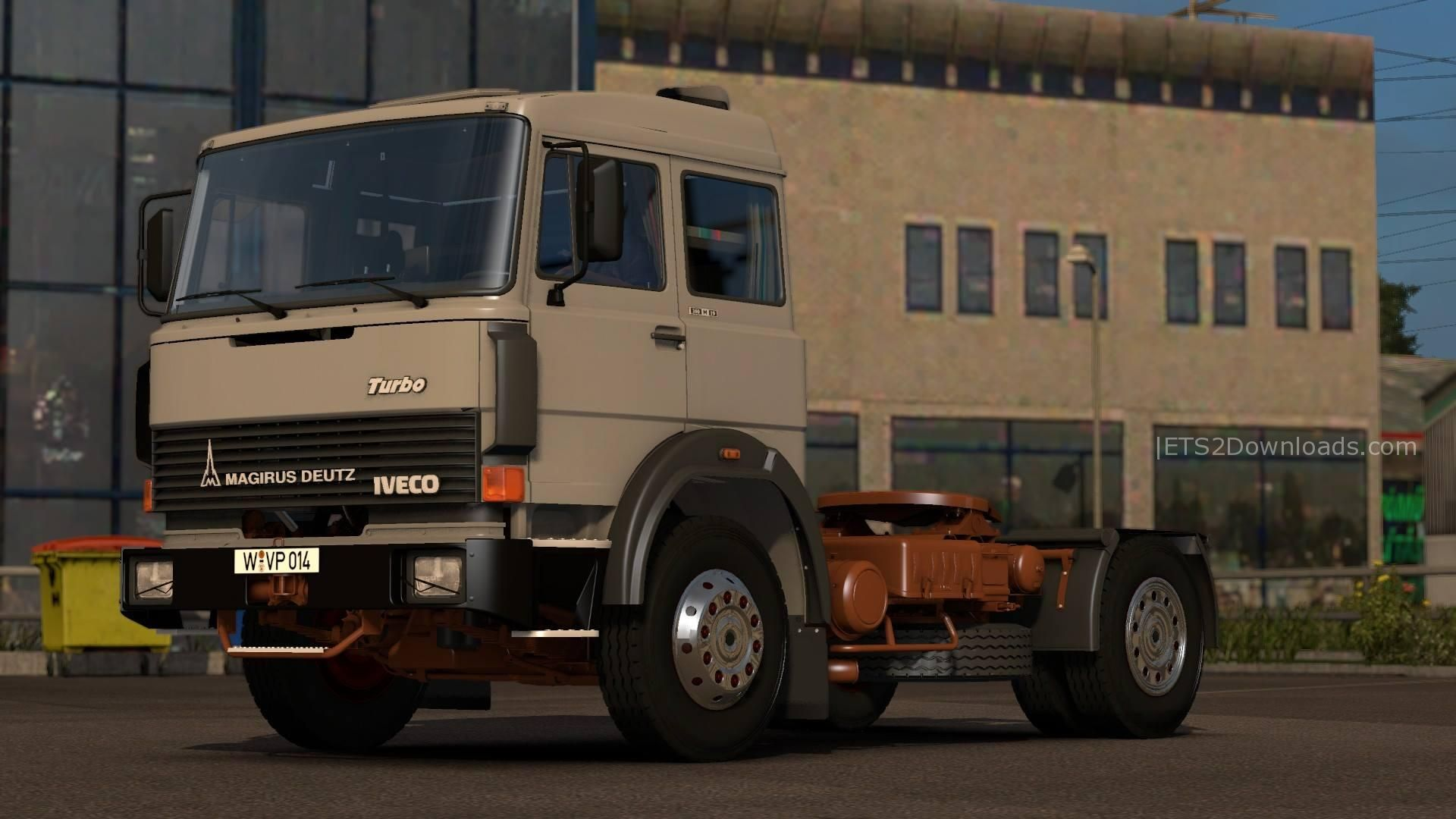 magirus deutz iveco v1 0 ets 2 mods ets2downloads. Black Bedroom Furniture Sets. Home Design Ideas