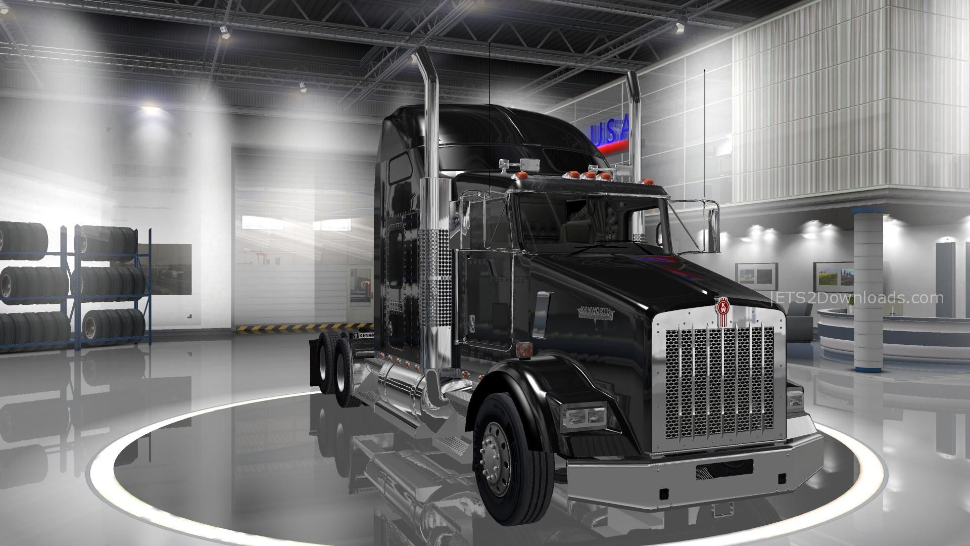 american truck pack v2 1 0 update euro truck simulator 2. Black Bedroom Furniture Sets. Home Design Ideas