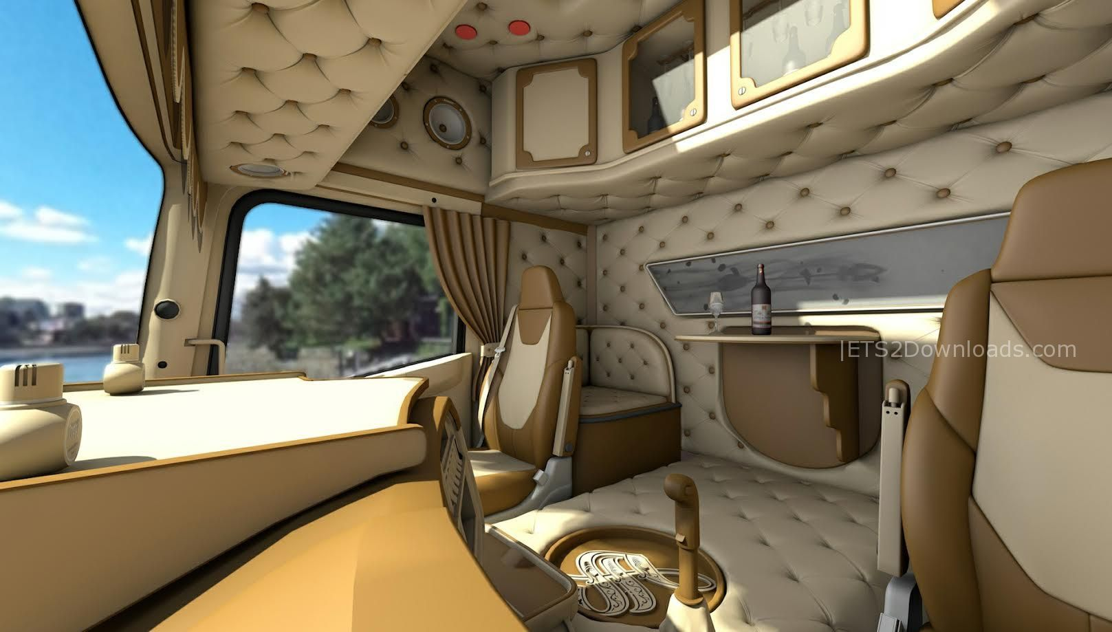 scania r full 3d v1 0 euro truck simulator 2 mods. Black Bedroom Furniture Sets. Home Design Ideas