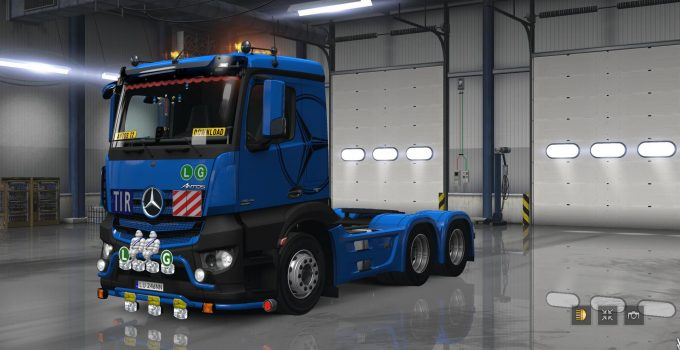 mercedes - euro truck simulator 2 mods | ets2downloads