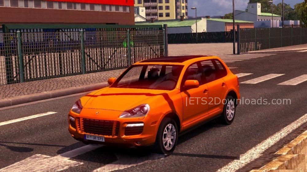 porsche cayenne turbo s ets 2 mods ets2downloads. Black Bedroom Furniture Sets. Home Design Ideas