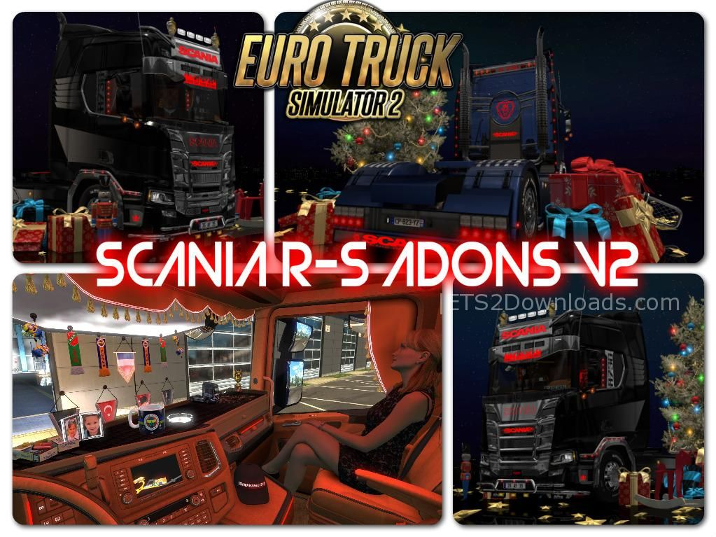 Scania R S Addons V2 1 30 Ets 2 Mods Ets2downloads