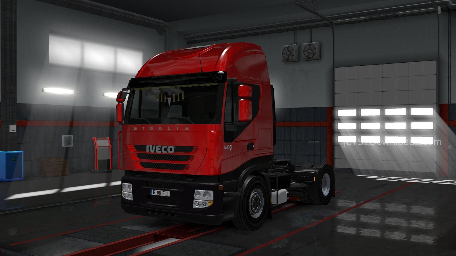 iveco stralis as2 v1 0 mods world. Black Bedroom Furniture Sets. Home Design Ideas