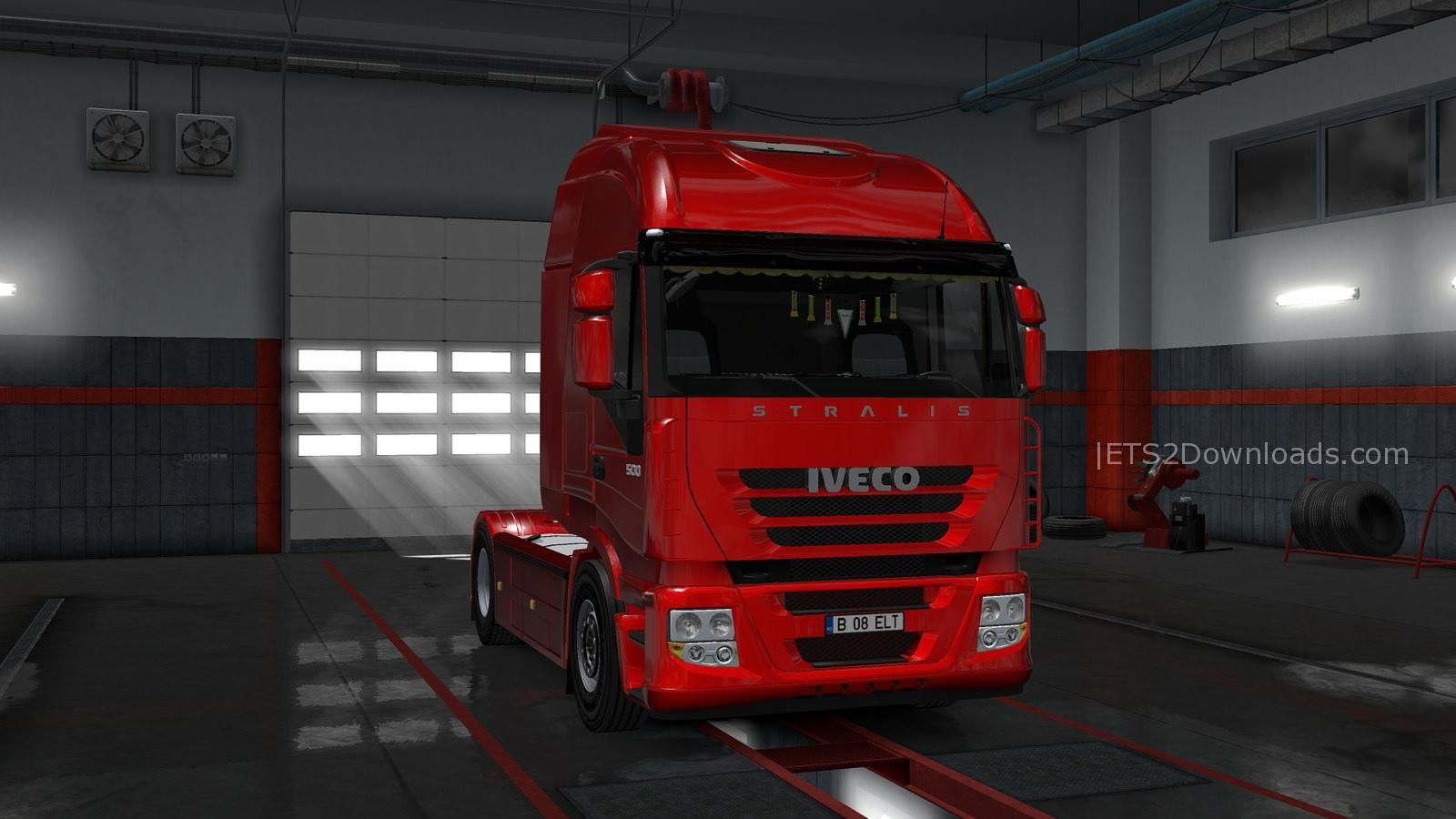iveco stralis as2 v1 0 ets 2 mods ets2downloads. Black Bedroom Furniture Sets. Home Design Ideas