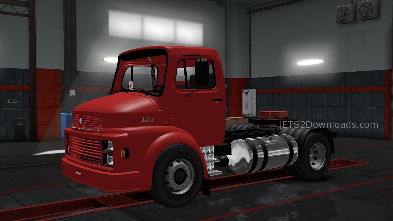 Mercedes benz 1313 ets 2 mods ets2downloads for Mercedes benz truck parts