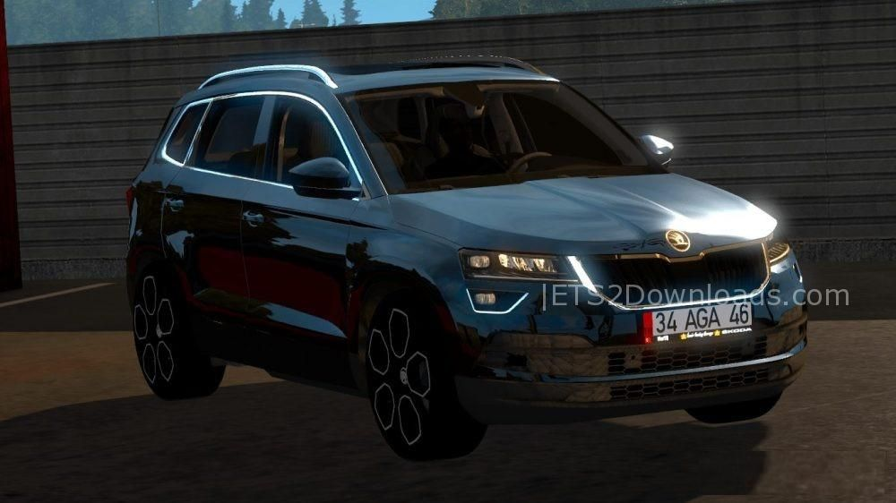 skoda karoq 2018 v1 0 ets 2 mods ets2downloads. Black Bedroom Furniture Sets. Home Design Ideas